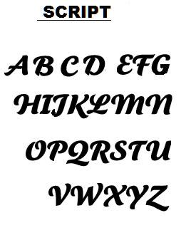 Fonts-Script