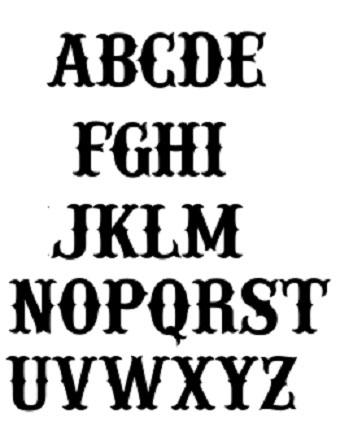 Fonts#1-Western-Font