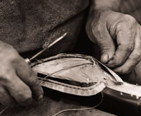 stitching-the-boot